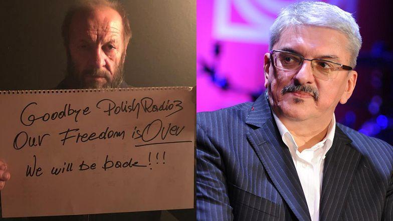 """Marek Niedźwiecki ODCHODZI z radiowej Trójki po unieważnieniu Listy Przebojów! """"Nasza Trójka już nie istnieje"""""""