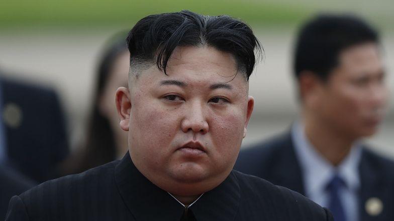 Kim Dzong Un w czasie otwarcia nowej fabryki nawozów