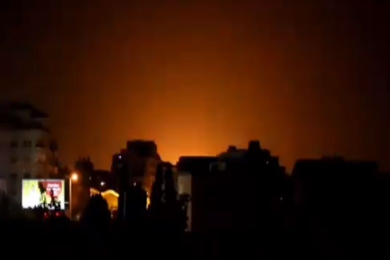 Strefa Gazy. Siły powietrzne Izraela uderzyły w obiekty Hamasu