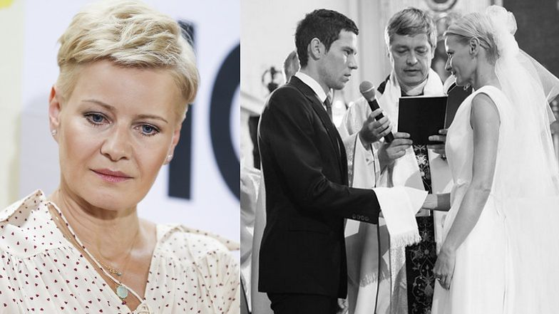 """Małgorzata Kożuchowska w żałobie! Aktorka pożegnała duchownego, który udzielił jej ślubu: """"Z Panem Bogiem, kochany księże Piotrze. Do zobaczenia"""""""