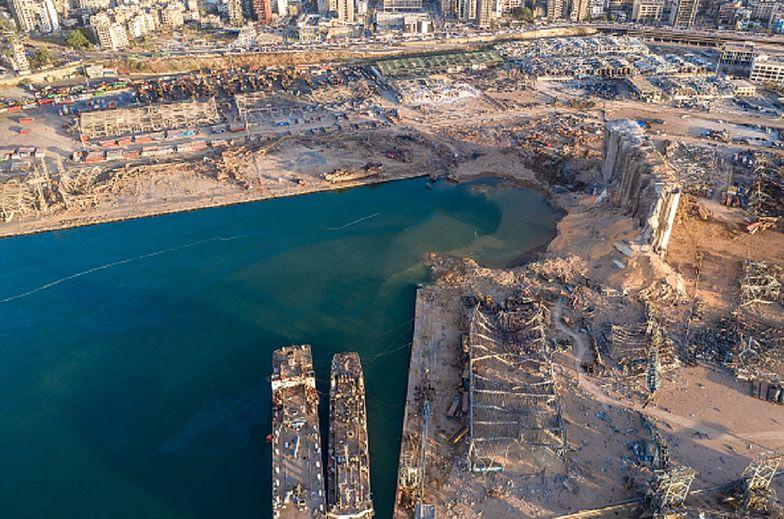 Wybuch w Bejrucie. Przerażająca skala zniszczeń