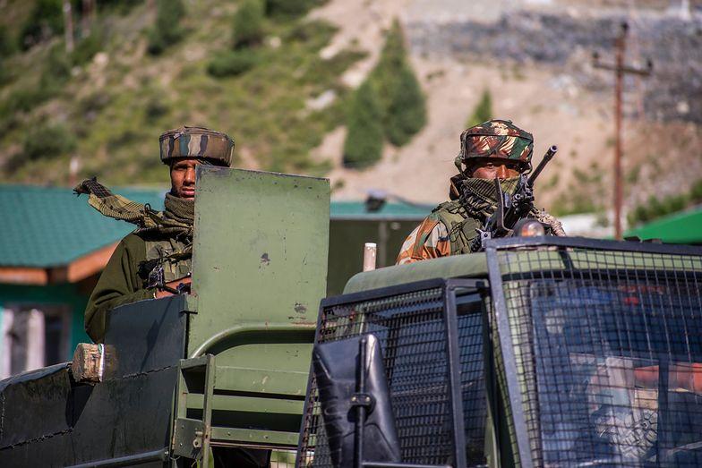 Brutalne starcie na granicy. Indie: Chiny straciły 40 żołnierzy