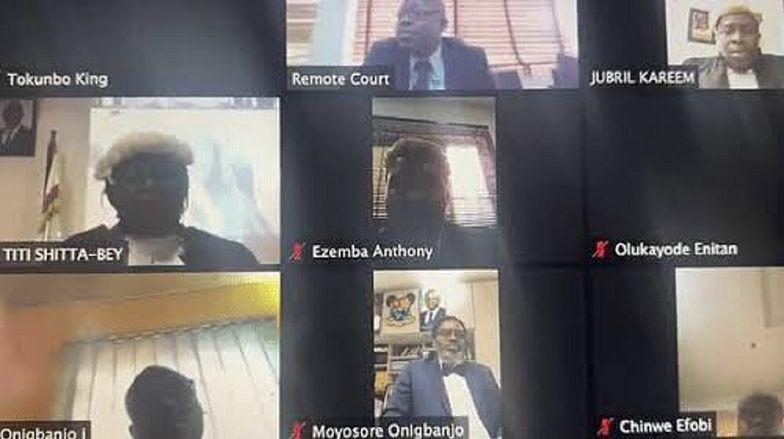 Sąd skazał mężczyznę na karę śmierci na wideokonferencji.