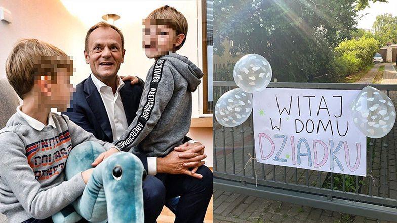 """Stęskniony Donald Tusk wrócił do rodziny: """"Równo STO DNI trwała nasza rozłąka"""""""