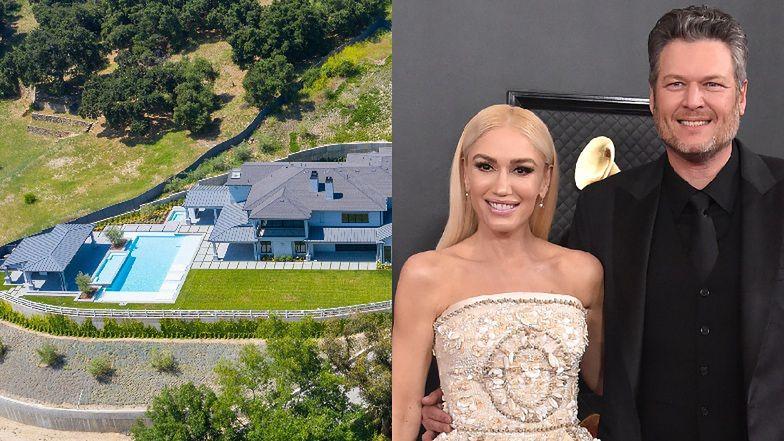 """Gwen Stefani i Blake Shelton kupili ogromną rezydencję za 13 milionów dolarów! """"To będzie ich pierwszy wspólny dom"""" (FOTO)"""