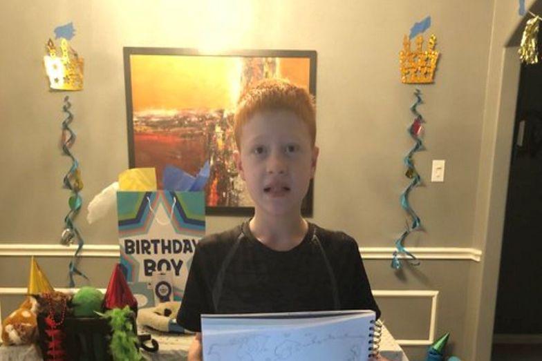 Internauci z całego świata uczcili urodziny 12-letniego chłopca