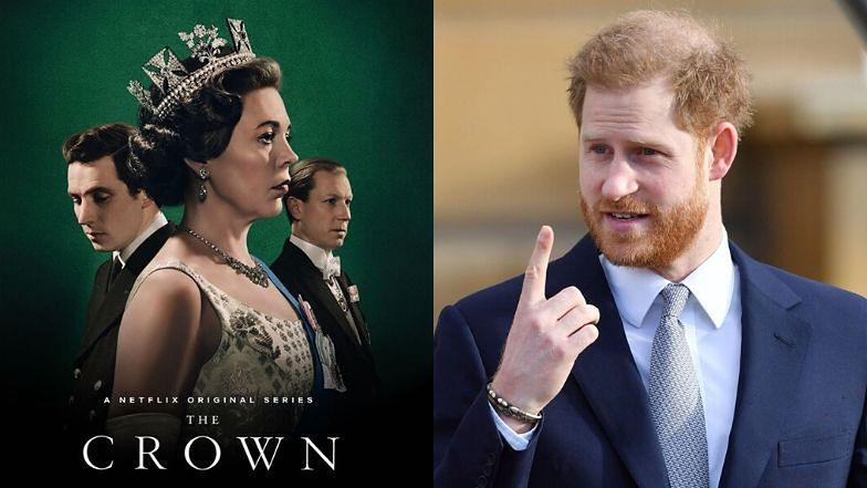 """Książę Harry """"grozi palcem"""" twórcom """"The Crown"""": """"Musiałbym ich POWSTRZYMAĆ, zanim zajęliby się moim życiem"""""""
