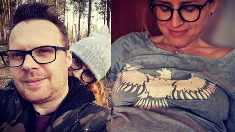 """Krzysztof ze """"Ślubu od pierwszego wejrzenia"""" rozpływa się nad CIĄŻOWYM BRZUSZKIEM ukochanej (FOTO)"""