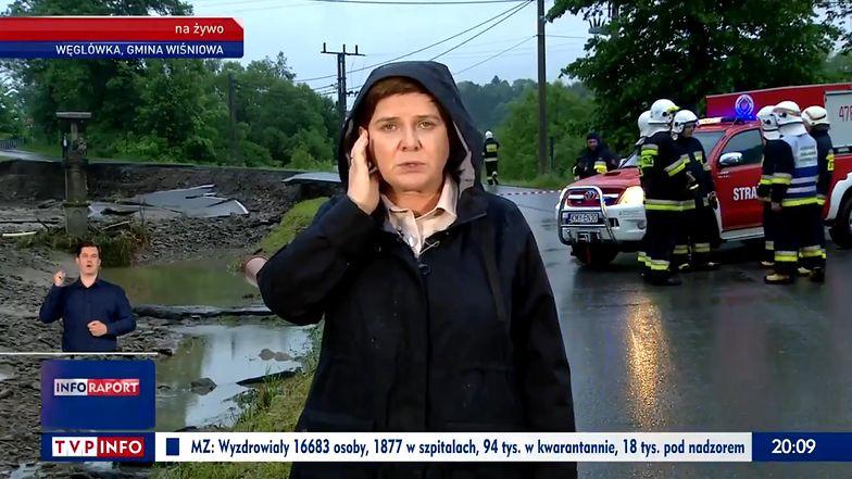 """Beata Szydło w """"Wiadomościach"""" TVP. Zaskoczyła nietypową rolą"""