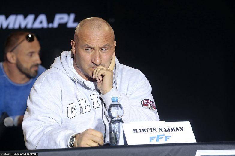 Marcin Najman szykuje się do walki. Wywołał rywala do tablicy