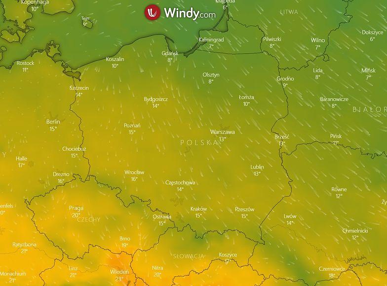 Sprawdź prognozę pogody na nadchodzący weekend