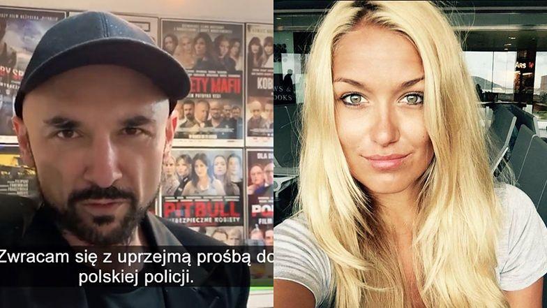 """Patryk Vega zaprasza poszukiwaną przez Interpol Magdalenę Kralkę na premierę filmu """"Bad Boy"""": """"Zawińcie ją dopiero na bankiecie"""""""