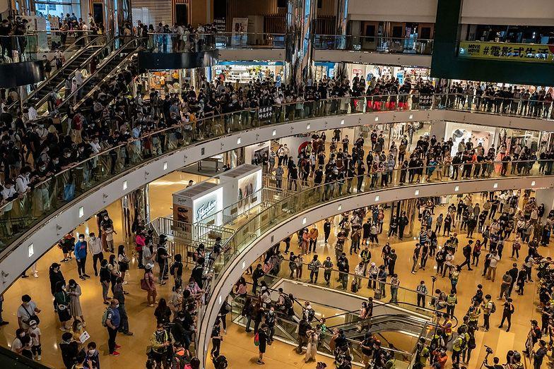 Protest w Hongkongu. Pierwszy od tygodni
