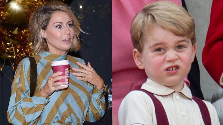"""Małgorzata Rozenek twierdzi, że jej synek przypomina BRYTYJSKIEGO KSIĘCIA: """"Pożyczam George'a, jak Tadek zmęczony"""" (FOTO)"""
