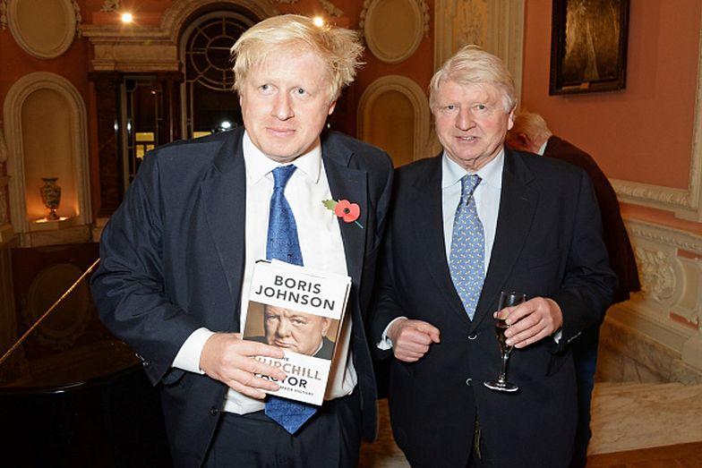 Ojciec Borisa Johnsona złamał zalecenie, by nie wychodzić z domu w błahym celu