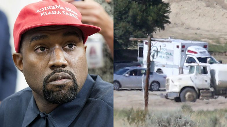 Na ranczo Kanye Westa przyjechała KARETKA!