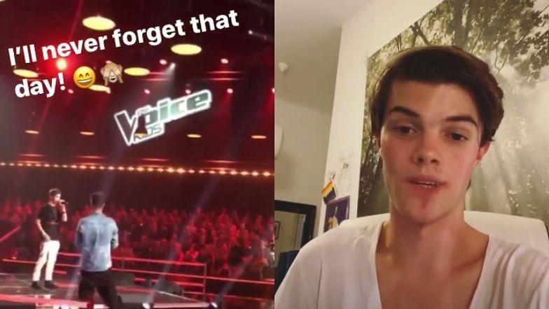 """Syn Moniki Zamachowskiej zaśpiewał na scenie """"The Voice Kids"""": """"Nigdy nie zapomnę tego dnia"""" (WIDEO)"""