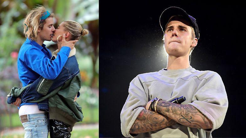 """Justin Bieber opuścił imprezę z odsłuchem swojej nowej płyty! """"Idę teraz kochać się z żoną"""""""