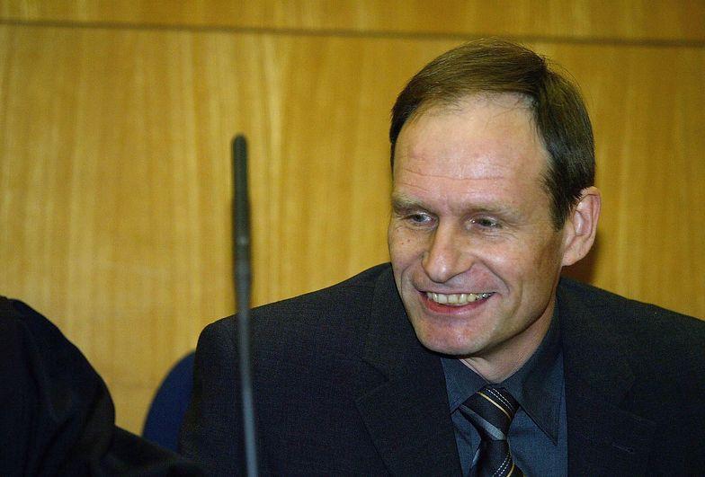 Armin Meiwes podczas procesu w Sądzie Okręgowym we Frankfurcie