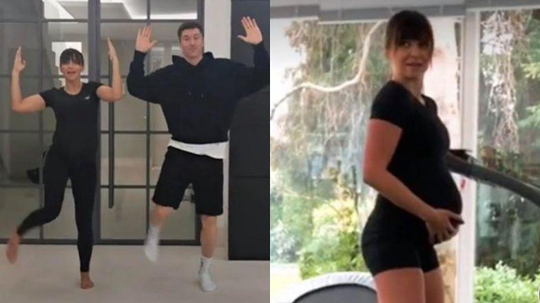Pełna energii Anna Lewandowska walczy z nudą podczas kwarantanny, tańcząc z Robertem na TikToku (WIDEO)