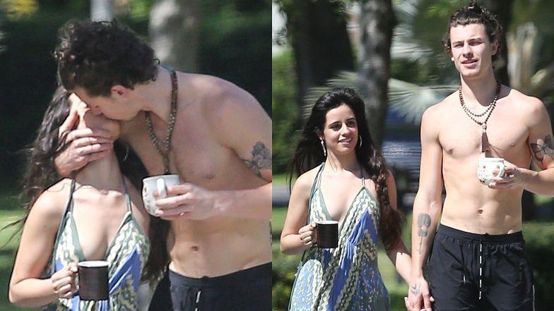 Camila Cabello i Shawn Mendes robią przerwę od kwarantanny, by OBŚCISKIWAĆ się na ulicach Miami (FOTO)
