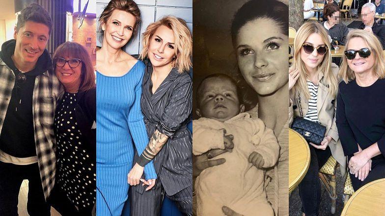 Gwiazdy świętują Dzień Matki