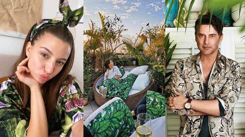 """Marcin Tyszka ZAPROJEKTUJE TARAS Julii Wieniawie w jej nowym mieszkaniu za 2 miliony złotych: """"Zaczynamy działać, będzie DŻUNGLA"""" (FOTO)"""