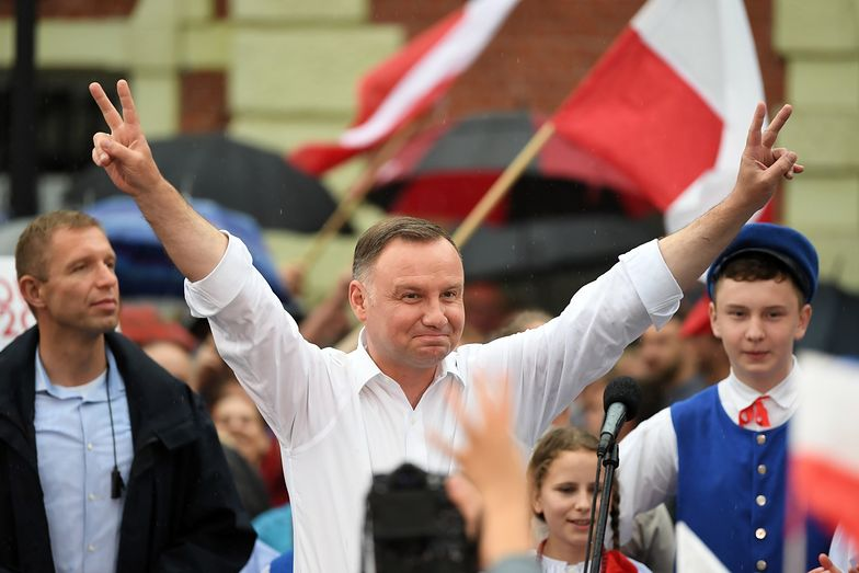 Wybory 2020. Rekord Andrzeja Dudy. W tej wsi mieszkańcy stoją za nim murem