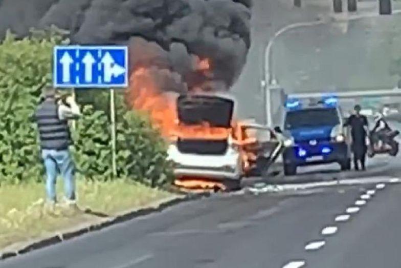 W Poznaniu doszło do stłuczki czterech samochodów. Nikomu nic się nie stało.