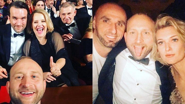 """Oscary 2020: Borys Szyc wspomina zeszłoroczną galę: """"Tańce na stole z Jaggerem i DiCaprio. Szalona impreza z Gortatem"""""""