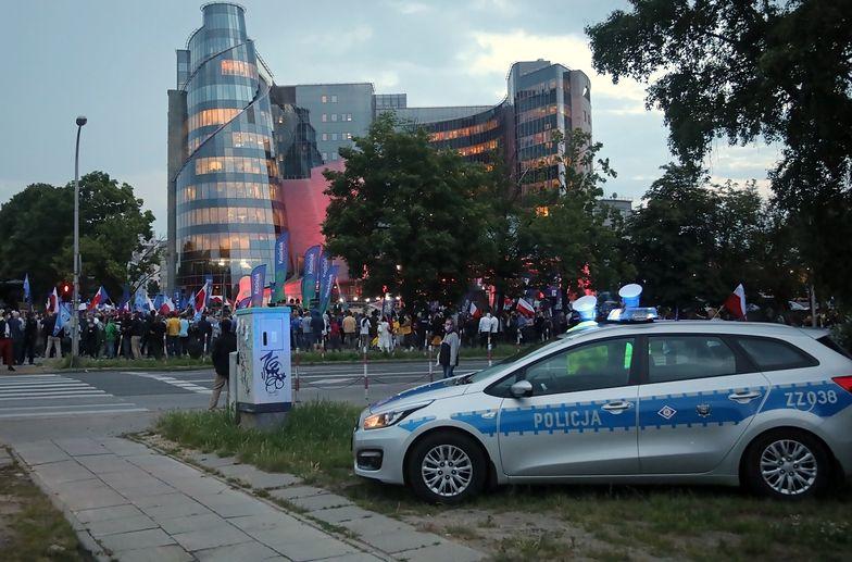 Debata prezydencka skończyła się interwencją policji