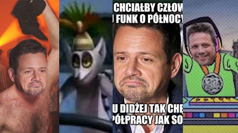 """Internet śmieje się nocnej """"interwencji"""" Rafała Trzaskowskiego w klubie"""