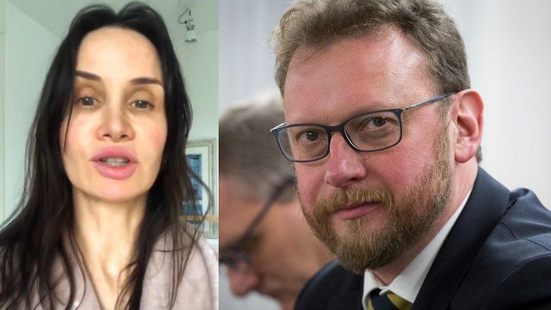 """Rozjuszona Viola Kołakowska apeluje do ministra zdrowia: """"Pan przestanie pić, zadba o swoje zdrowie psychiczne i SIĘ OD NAS ODCZEPI!"""""""