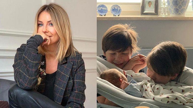 """Zadumana Małgorzata Rozenek martwi się o synów z powodu powrotu do szkoły: """"Mamy niemowlaka w domu! Troska jest duża"""""""