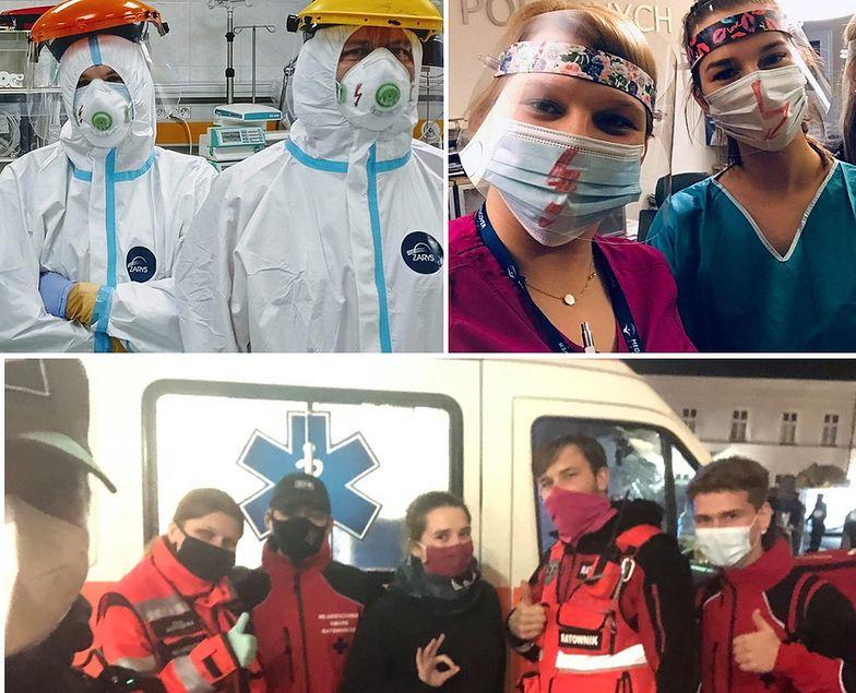 Położne, ratownicy, lekarze. Popierają Strajk Kobiet
