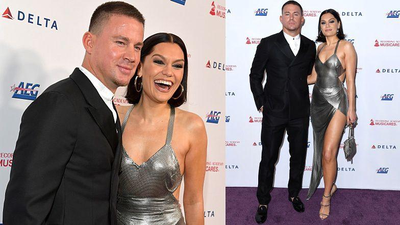 Jessie J i Channing Tatum WRÓCILI DO SIEBIE! Zadebiutowali razem na ściance (FOTO)