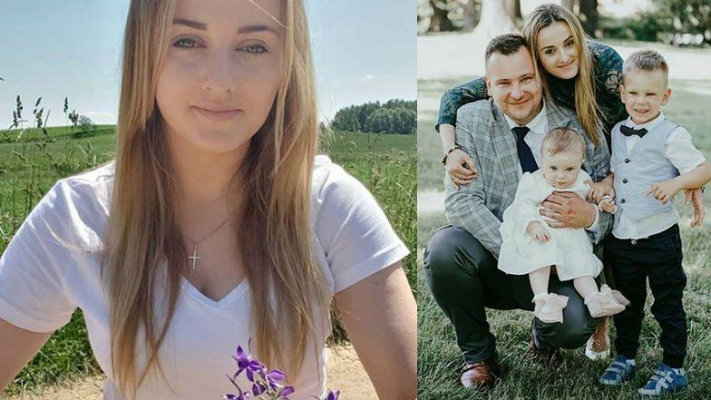 """Anna Bardowska z """"Rolnika"""" chwali się rodzinną fotografią z CHRZCIN CÓRKI. Fani oczarowani: """"TAKA RODZINA TO SKARB"""" (FOTO)"""
