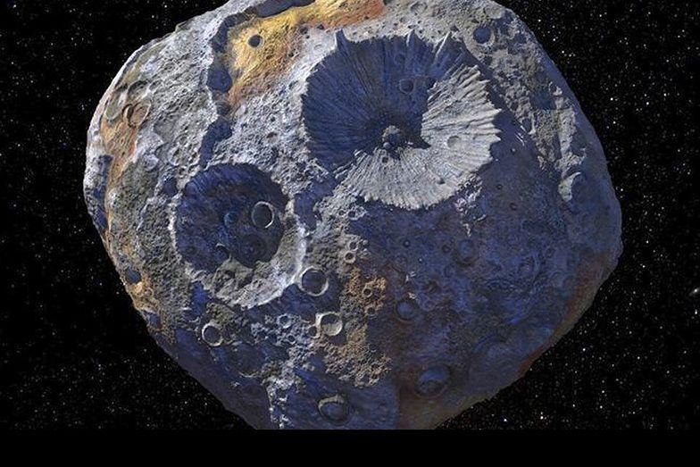 """NASA wyśle sondę na asteroidę """"cenniejszą niż światowa gospodarka"""""""