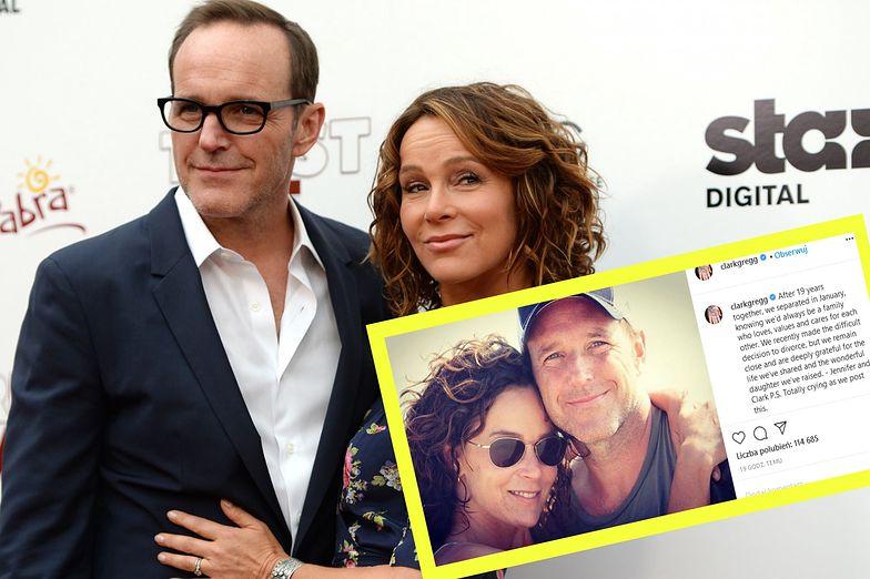 """Koniec małżeństwa Jennifer Grey. Rozwód gwiazdy """"Dirty Dancing"""" i Clarka Gregga"""