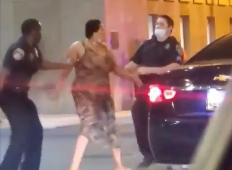 Sytuacja miała miejsce w czasie protestów w Baltimore.
