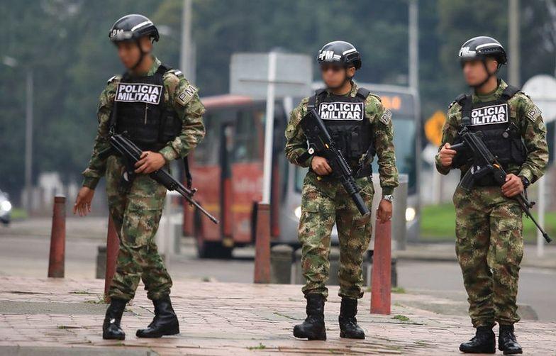 Szok w Kolumbii. Siedmiu żołnierzy zgwałciło 13-latkę