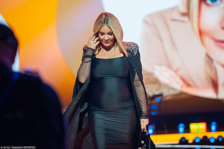 Małgorzata Rozenek z obawami wyczekuje porodu
