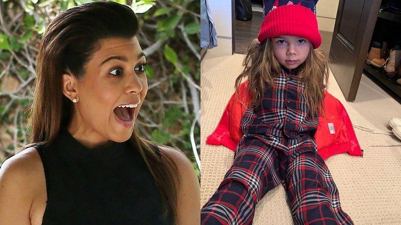 """Syn Kourtney Kardashian NIE MA już długich włosów! """"NIE JEST DOBRZE"""" (FOTO)"""