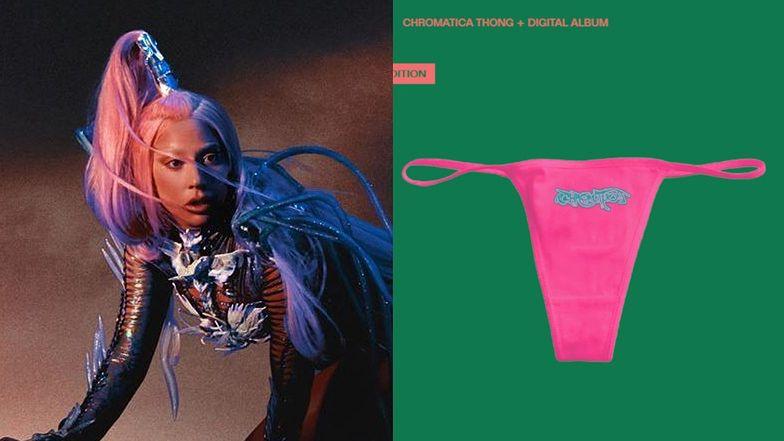 """Przedsiębiorcza Lady Gaga dołącza RÓŻOWE STRINGI do nowej płyty! Fani są zachwyceni: """"Nie wiem, jak zapłacę rachunki, ale będę wyglądać ZJAWISKOWO"""""""