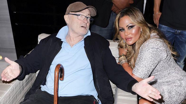 Phil Collins nie może się pozbyć z domu trzeciej żony, która ma już NOWEGO MĘŻA