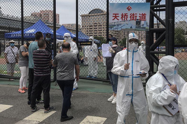 Nowe zakażenia w Chinach. Ruszą kontrole. Nowe źródło koronawirusa?
