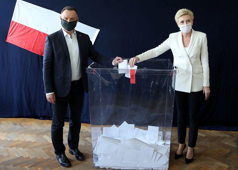 Andrzej Duda i pierwsza dama