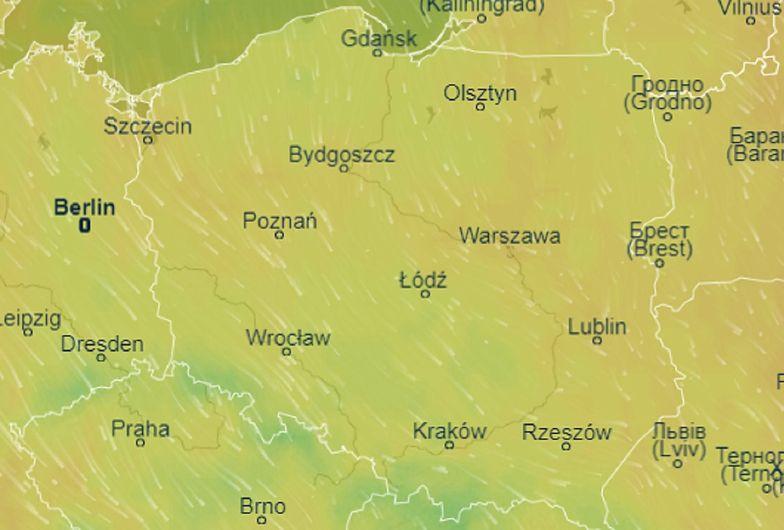 W poniedziałek 25 maja w całej Polsce będzie burzowo i deszczowo.