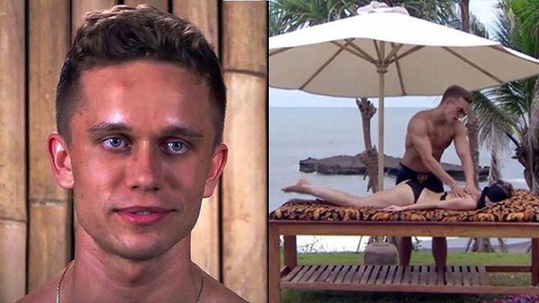 """""""Hotel Paradise"""": Zdeterminowany Łukasz walczy o pozostanie w programie: """"Kobiety na mnie lecą!"""""""