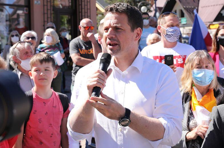 Rafał Trzaskowski ma ponad 100 tys. podpisów